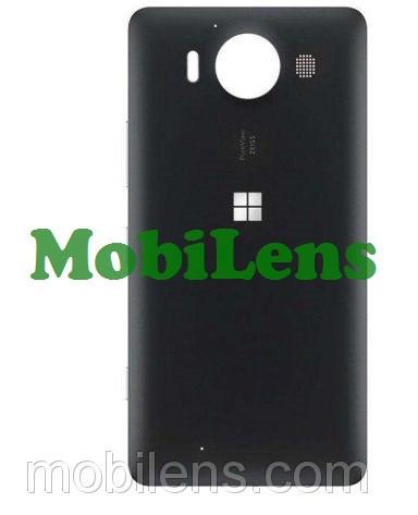Microsoft 950 Lumia, RM-1104, RM-1118 Задняя крышка черная