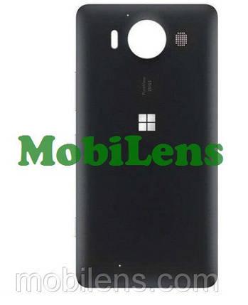 Microsoft 950 Lumia, RM-1104, RM-1118 Задняя крышка черная, фото 2
