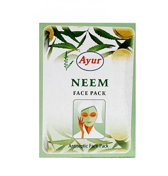 Маска для лица антисептическая Ним, NEEM,  Ayur, 100 г