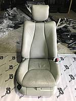 Сидіння ліве сіра шкіра Mercedes s-class w220, фото 1