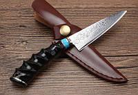 Нож ручной работы Дамаск XCD188