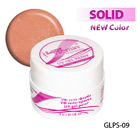 Цветная гель-краска с блестками для рисования на ногтях  Lady Victory LDV GLPS-09/9-0