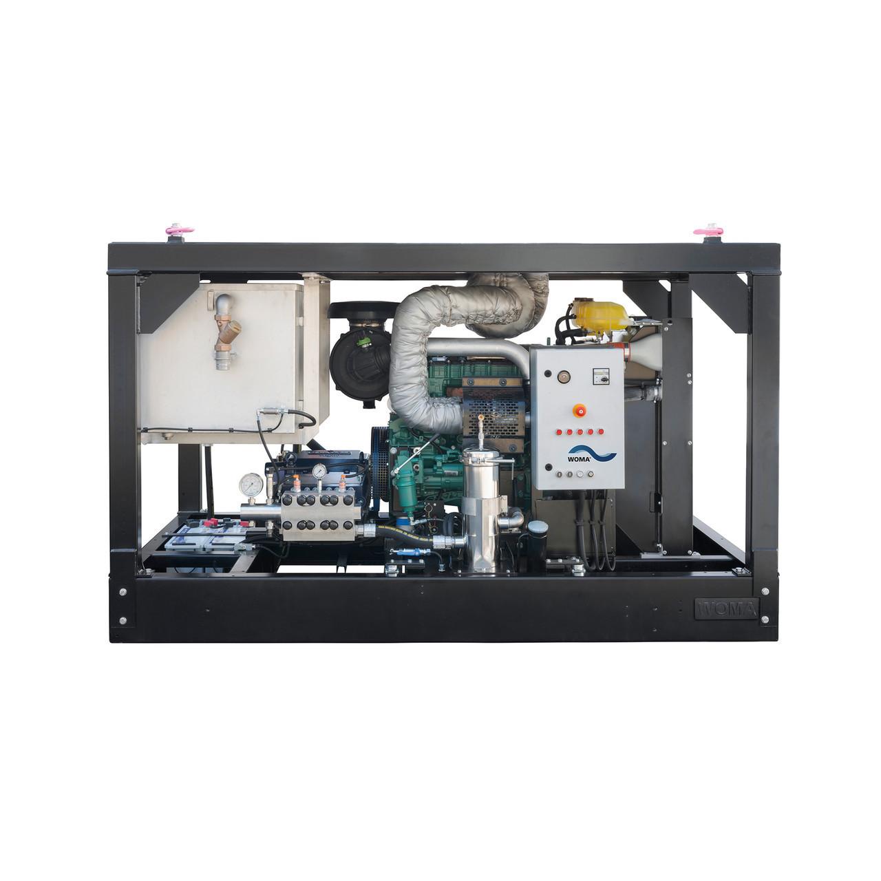 Насосная станция EcoMaster D 150Z WOMA высокого давления, стационарная