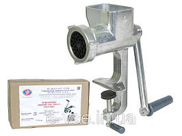 Мясорубка ручная Мотор Сич 1МА-С (алюминиевая)