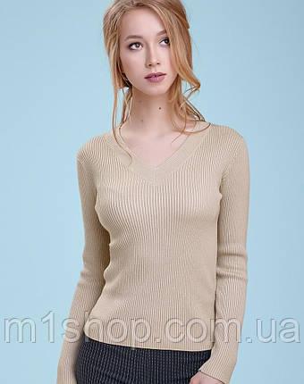 Женский облегающий пуловер (3245-3240-3314 svt), фото 2