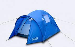 Туристическая палатка Coleman 3006 2-х местная. 2-х слойная. Тамбур