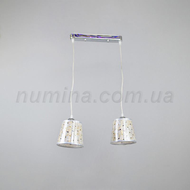 Люстра подвесная на 2 лампы 14-67157/2B CR
