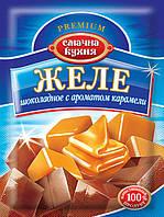 Желе шоколадное с ароматом карамели ТМ Смачна кухня, 70 г