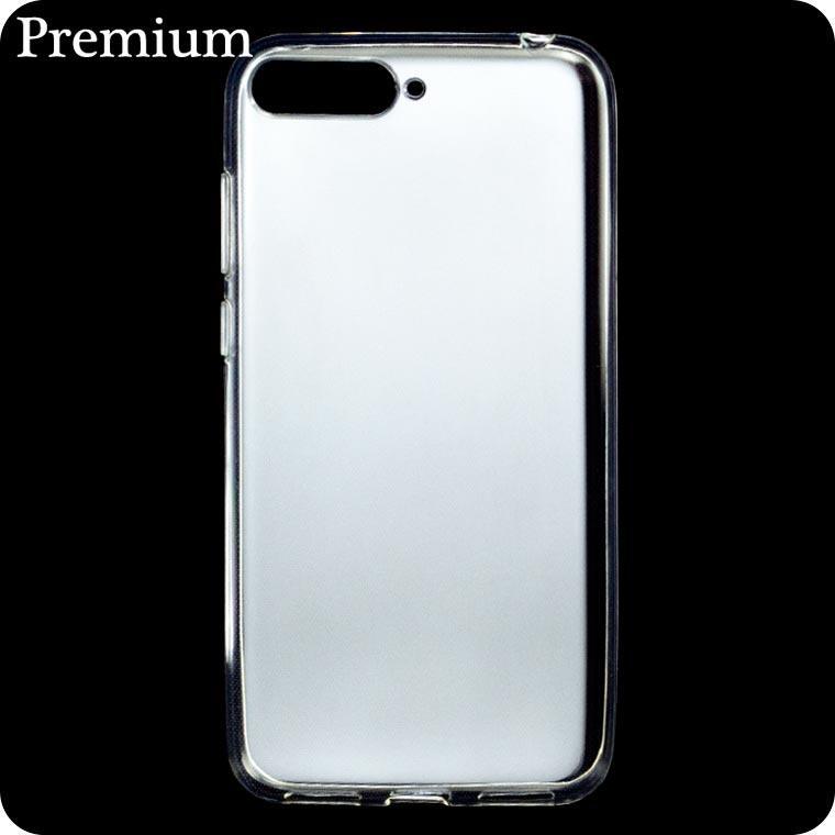Чехол силиконовый Premium Huawei Y6 2018 прозрачный
