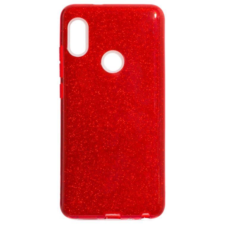 Чехол силиконовый Shine Xiaomi Redmi Note 5 Pro красный