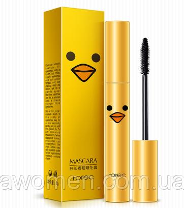 Тушь для ресниц Rorec Mascara Утка (удлиняющая подкручивающая) 8 g