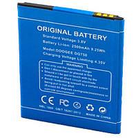 Аккумулятор Doogee DG750 2500 mAh AAAA/Original тех.пакет