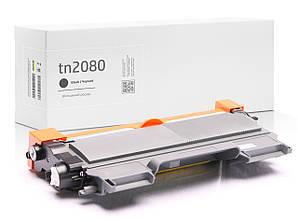 Картридж Brother TN2080 (TN-2080) сумісний, XL збільшений ресурс (2.600 копій), аналог від Gravitone