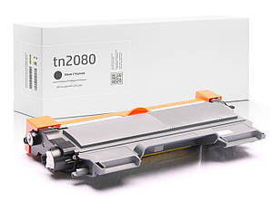 Картридж совместимый Brother TN2080 (TN-2080) , XL увеличенный ресурс (2.600 копий), аналог от Gravitone