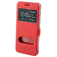 Чехол-книжка Nillkin 2 окна Samsung A7 2017 A720 красный