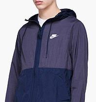 Куртка Nike M JKT HD WVN Blue 928857-081, оригинал, фото 3