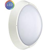 Светодиодный пылевлагозащищенный светильник ЛЕД ГЛОБО LC-15Вт/840-12 О D220 WH 33 IP65
