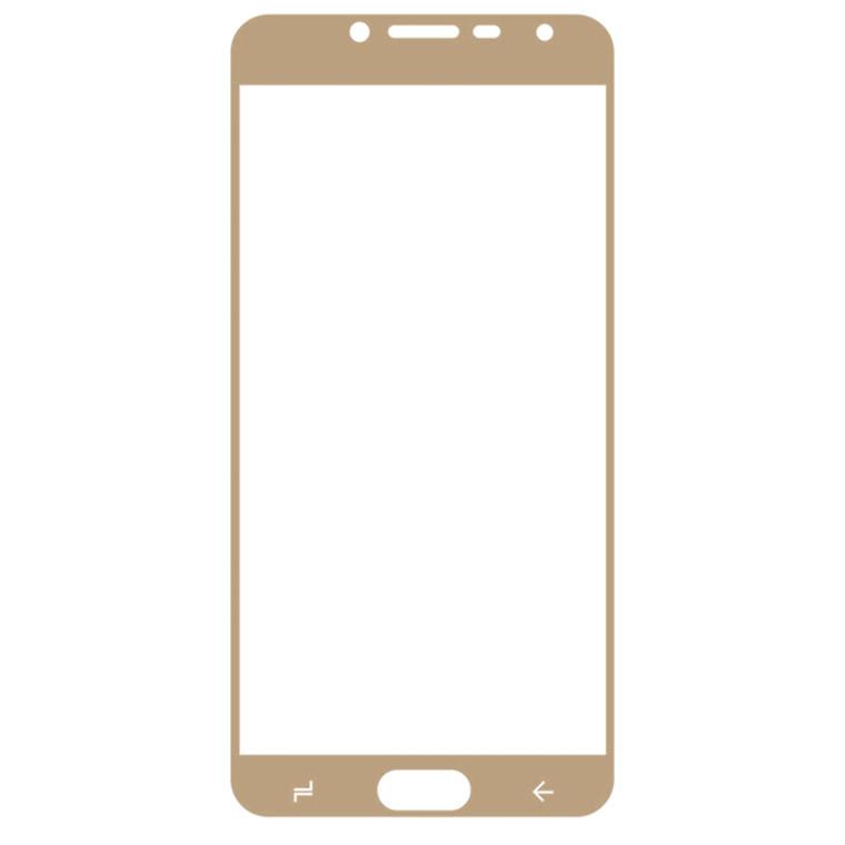 Защитное стекло Full Screen Samsung J4 2018 J400 gold тех.пакет