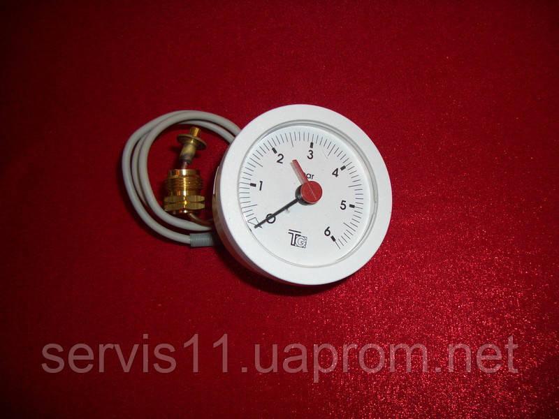 Манометр для котлов торговой марки Ferroli Domina C 24m