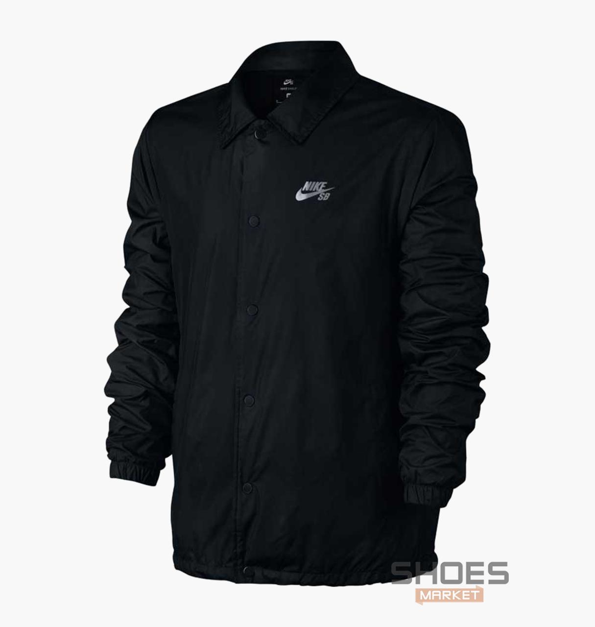 Куртка Nike M SB SHLD JKT COACHES Blue 829509-010, оригинал