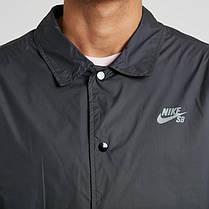 Куртка Nike M SB SHLD JKT COACHES Blue 829509-010, оригинал, фото 3