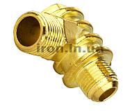 Обратный клапан с наружной резьбой 1/2 18.7 внутрь 1/8 компрессора-прессостата