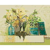 Картина по номерам Идейка - В гостях у волшебницы 40x50 см (КНО2070)