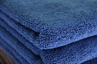 """Банное полотенце махровое 70х140 """"STYLE 500"""" синий (микрокоттон/хлопок 100%)"""