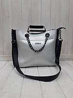 Женская сумка Зара комбинированная, фото 1
