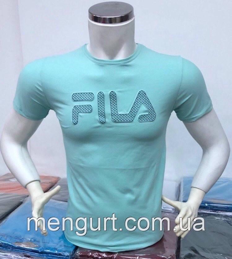 d3653acb559 Футболка мужская молодежная фила FILA 3d Турция - Оптовый интернет-магазин  мужской одежды