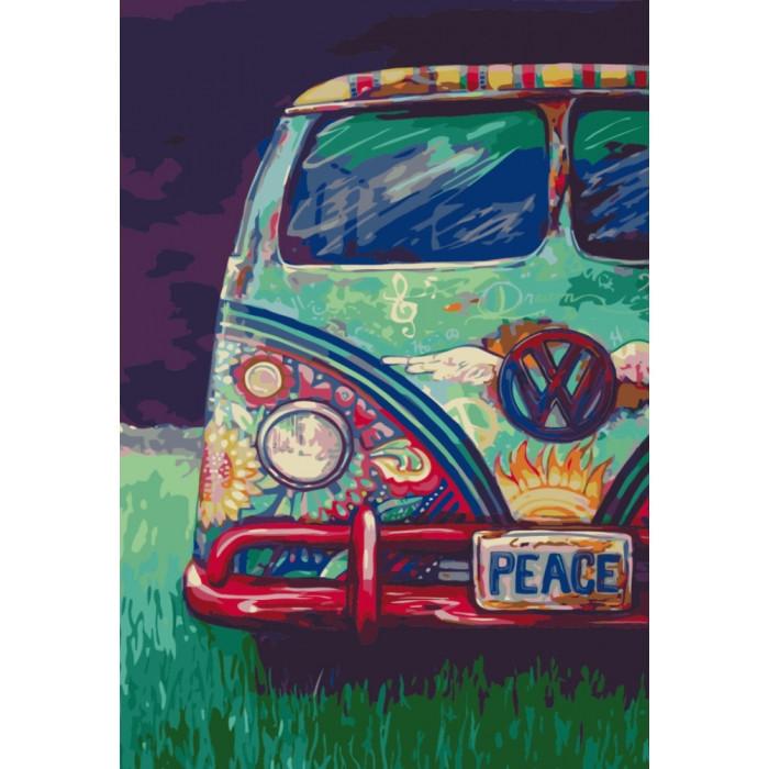 Картина по номерам Идейка - Дорожное путешествие 40x50 см (КНО5511)