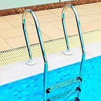 Лестница для бассейна Emaux Mixta NSF215-SR (2 ступ.), фото 3