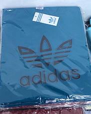 Футболка мужская молодежная adidas  3d Турция, фото 3