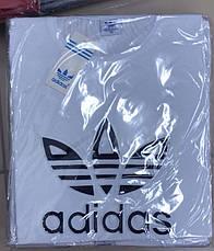 Футболка мужская молодежная adidas  3d Турция, фото 2