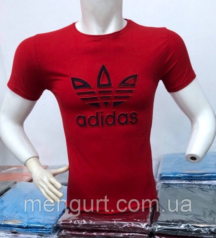 Футболка мужская молодежная adidas  3d Турция
