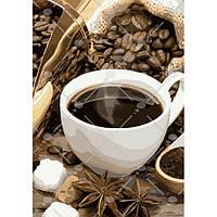 Картина по номерам Идейка - Кофейное настроение 35x50 см (КНО5546)