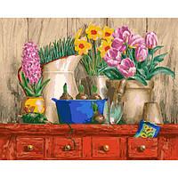 Картина по номерам Идейка - Цветочная идиллия 40x50 см (КНО2922)