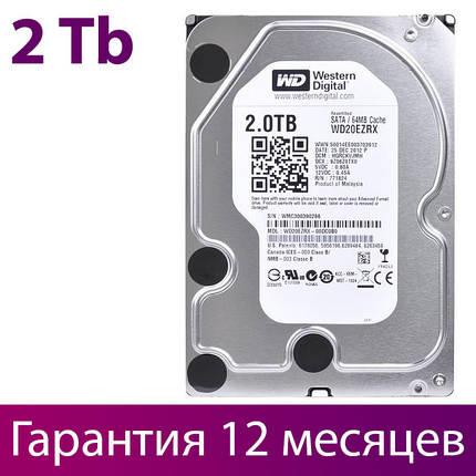 """Жорсткий диск для комп'ютера 3.5"""" 2 Тб/Tb Western Digital, SATA3, 64Mb, IntelliPower (WD20EZRX), вінчестер hdd, фото 2"""