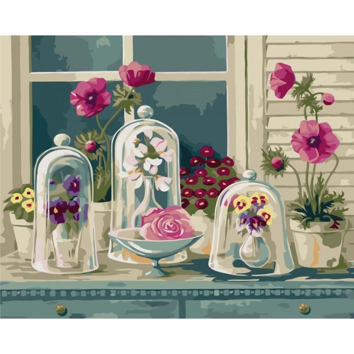 Картина по номерам Идейка - Цветочное разнообразие 40x50 см (КНО2927)
