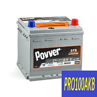 Автомобильный аккумулятор POVVER 55 Ач 480 А (0) R+