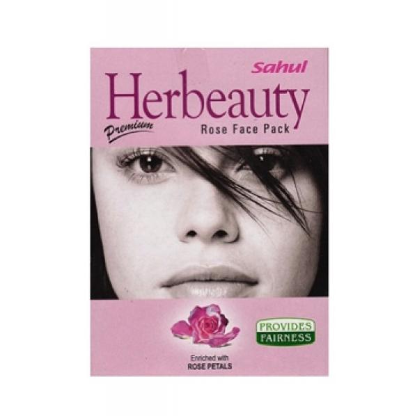 Маска для лица Роза, Sahul Herbeauty Rose Face Pack, 100 г