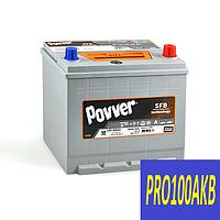 Автомобильный аккумулятор POVVER 68 Ач 650 А (0) R+