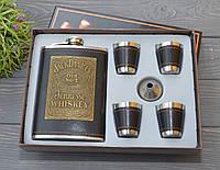 """Подарочный набор с Флягой """"Jack Daniels"""" (Джек Дениэлс)"""