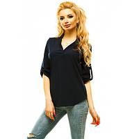 Блуза летняя (Черный)
