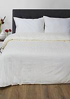 Постельное белье Сатин-страйп 1*1 Ваниль Lotus