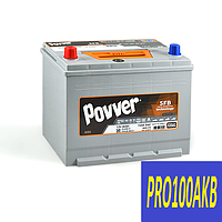 Автомобильный аккумулятор POVVER 80 Ач 720 А (1) L+