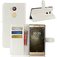 Чехол-книжка Litchie Wallet для Sony Xperia L2 H4311 Белый