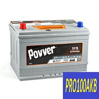 Автомобильный аккумулятор POVVER 100 Ач 900 А (1) L+