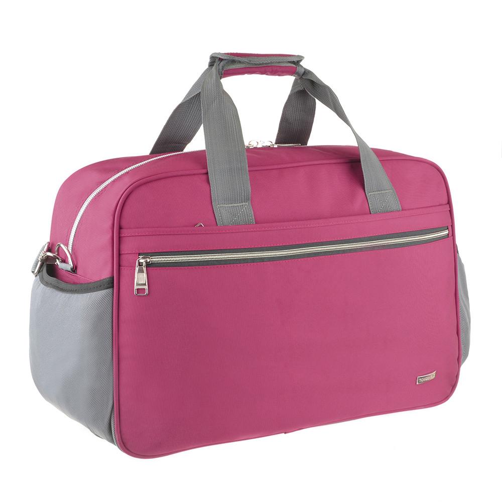 Дорожная сумка TONGSHENG 55x37x23 нейлон бордовая  кс99501бор