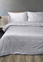 Постельное белье Сатин-страйп 1*1 Серый